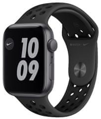 Apple Watch Nike SE , 44 mm Space Gray Aluminium Case with Anthracite/Black Nike Sport Band (MYYK2HC/A)