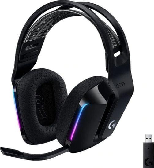 Logitech G733 Lightspeed, černá (981-000864)