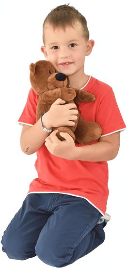 Mac Toys Plyš do mikrovlnky - medvedík