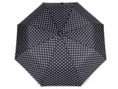 Kraftika 1ks černá dámský skládací deštník, dámské deštníky