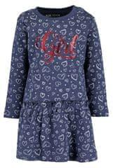 Blue Seven dekliška obleka, 86, modra