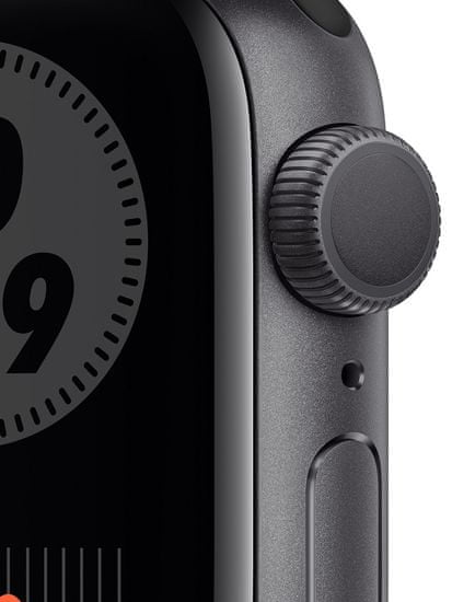 Apple Watch Nike Series 6, 40mm Space Gray Aluminium Case with Anthracite/Black Sport Band (M00X3HC/A)