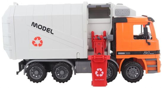 Lamps Velik kamion za smeti