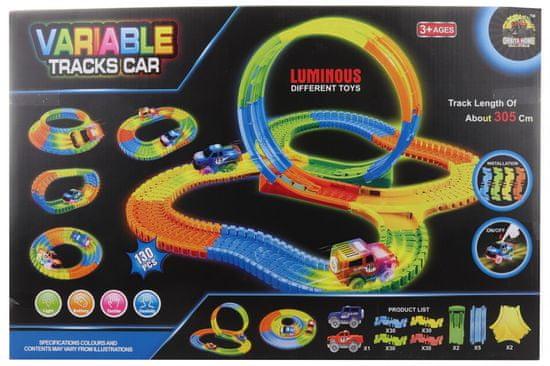 Lamps pot z avtom na baterije, 130 delov
