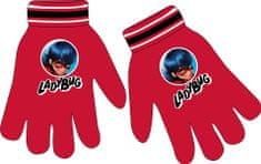 """Eplusm Dievčenské prstové rukavice """"Miraculous"""" - červená"""