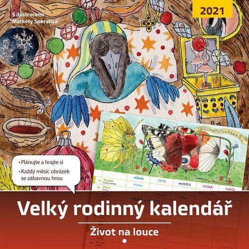 Monika Kopřivová: Velký rodinný kalendář 2021