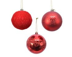 Kaemingk komplet okraskov, rdeč, 12 kosov - Odprta embalaža