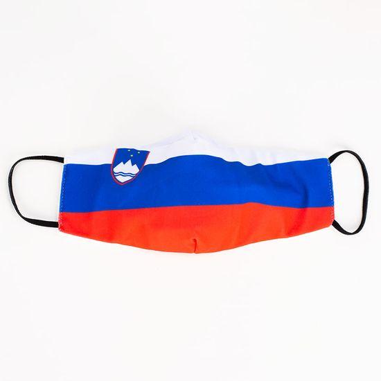 Slovenija obrazna maska, zastava