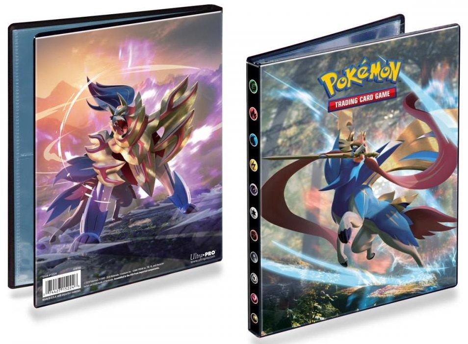 Pokémon Sword and Shield - A5 album na 80 karet