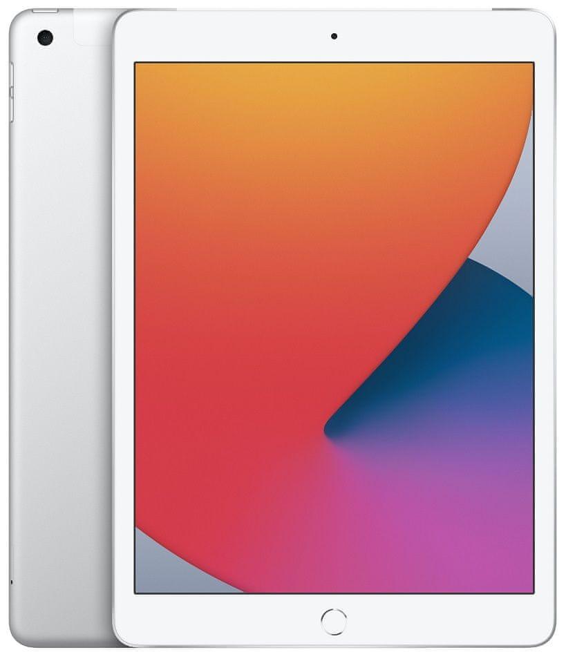 Apple iPad 2020, Cellular, 32GB, Silver (MYMJ2FD/A)