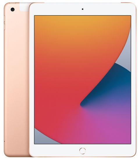 Apple iPad 8 tablet, Wi-Fi, 32GB, Gold (MYLC2FD/A)