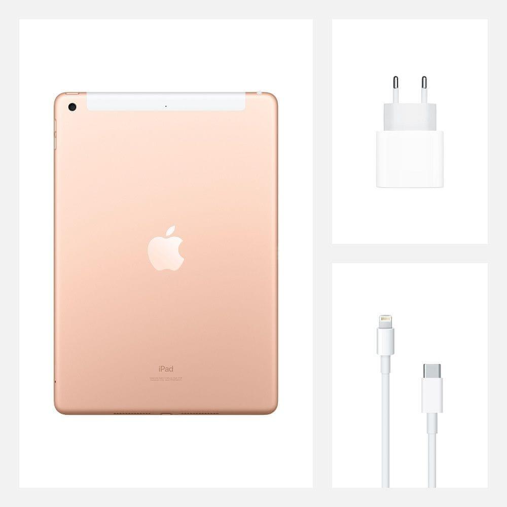 Apple iPad 2020, Cellular, 32GB, Gold (MYMK2FD/A)
