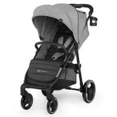 KinderKraft GRANDE City grey 2020 otroški voziček, siv - Odprta embalaža