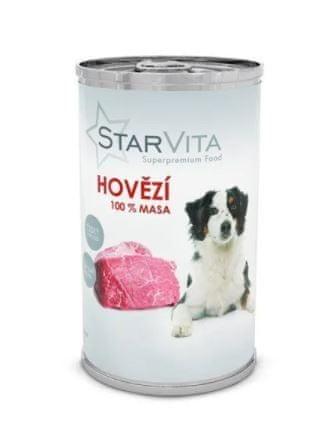 Starvita konzerva hovězí mleté 8x1200 g