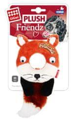GiGwi hračka pre psov Plush Friendz líška s gum. krúžkom