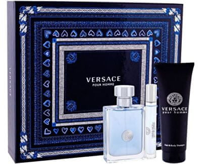 Versace Pour Homme - EDT 100 ml + sprchový gel 150 ml + EDT 10 ml