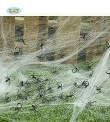 Pavúky - HALLOWEEN - sada 50 ks