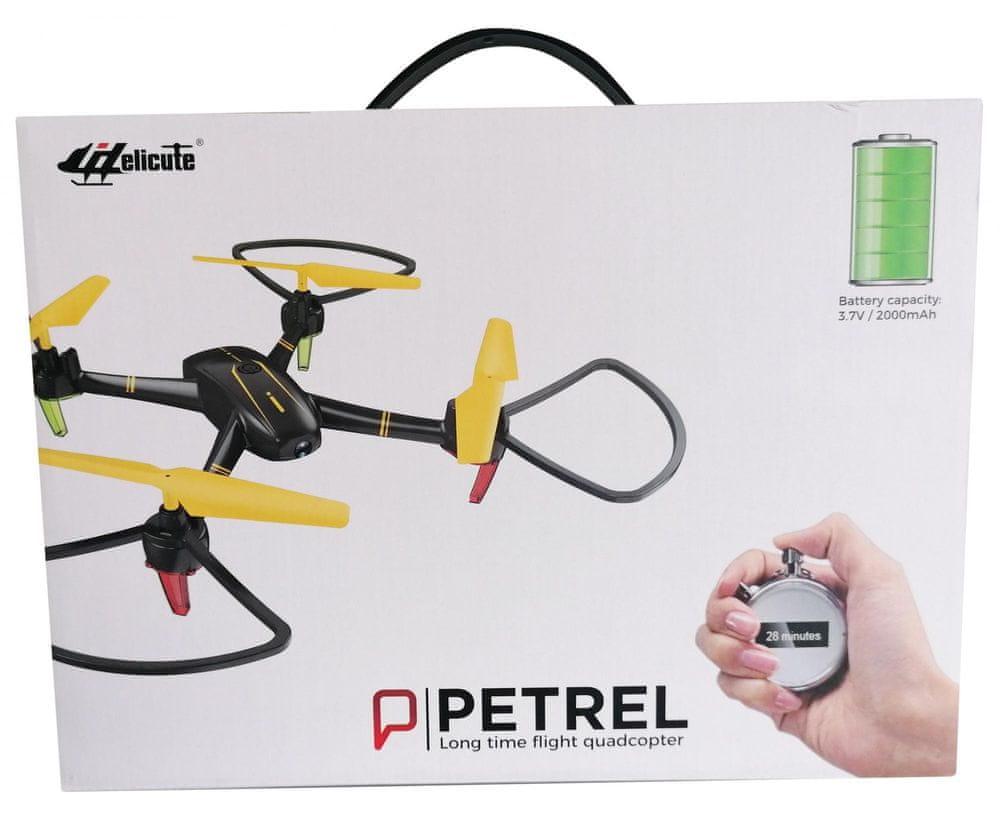 Mac Toys Dron s kamerou - žlutý - zánovní