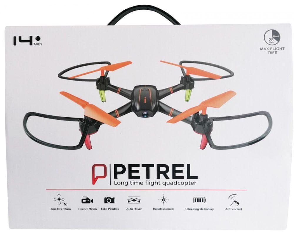 Mac Toys Dron s kamerou - oranžový