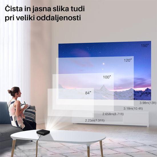 Byintek UFO U30 Pro mini prenosni LED projektor, Android, Wi-Fi