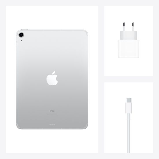 Apple iPad Air 2020, Wi-Fi, 64GB, Silver (MYFN2FD/A)
