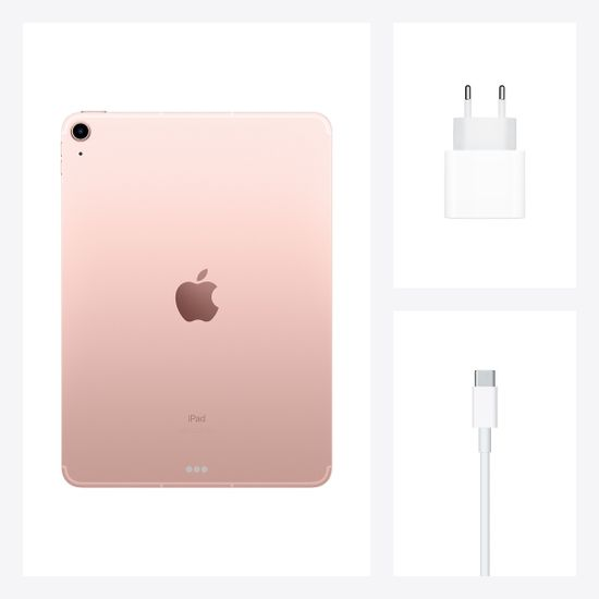 Apple iPad Air 2020, Wi-Fi, 64GB, Rose Gold (MYFP2FD/A)