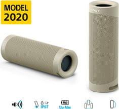 Sony SRS-XB23 4K Bluetooh zvočnik, siv