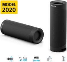 Sony SRS-XB23 4K Bluetooh zvočnik, črn
