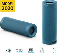 Sony SRS-XB23 modrá