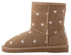 Coqui dekliški škornji Lt. Brown Hearts 172-906-9300, 27, rjavi- Odprta embalaža