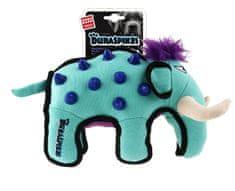 GiGwi Hračka pre psov Duraspikes textilný mamut svetlo modrý