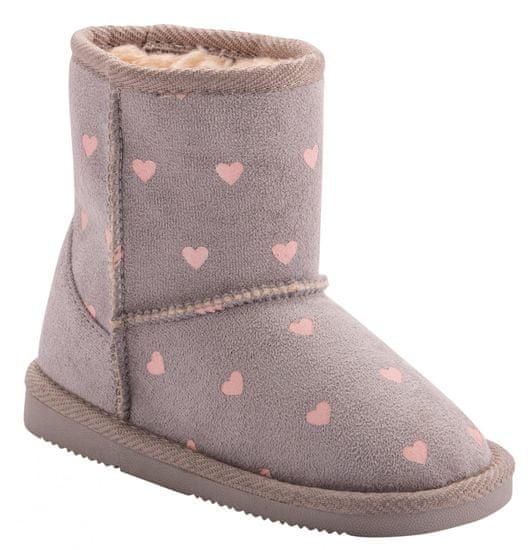 Coqui buty dziewczęce Grey Hearts 172/173-906-9900