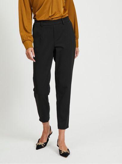 .OBJECT černé slim fit kalhoty Lisa