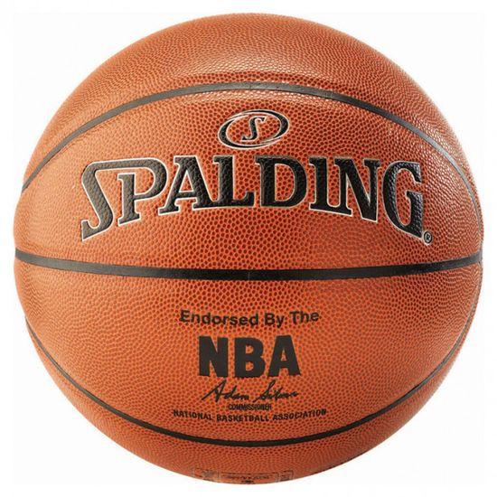 Spalding NBA košarkarska žoga, št. 7, Silver