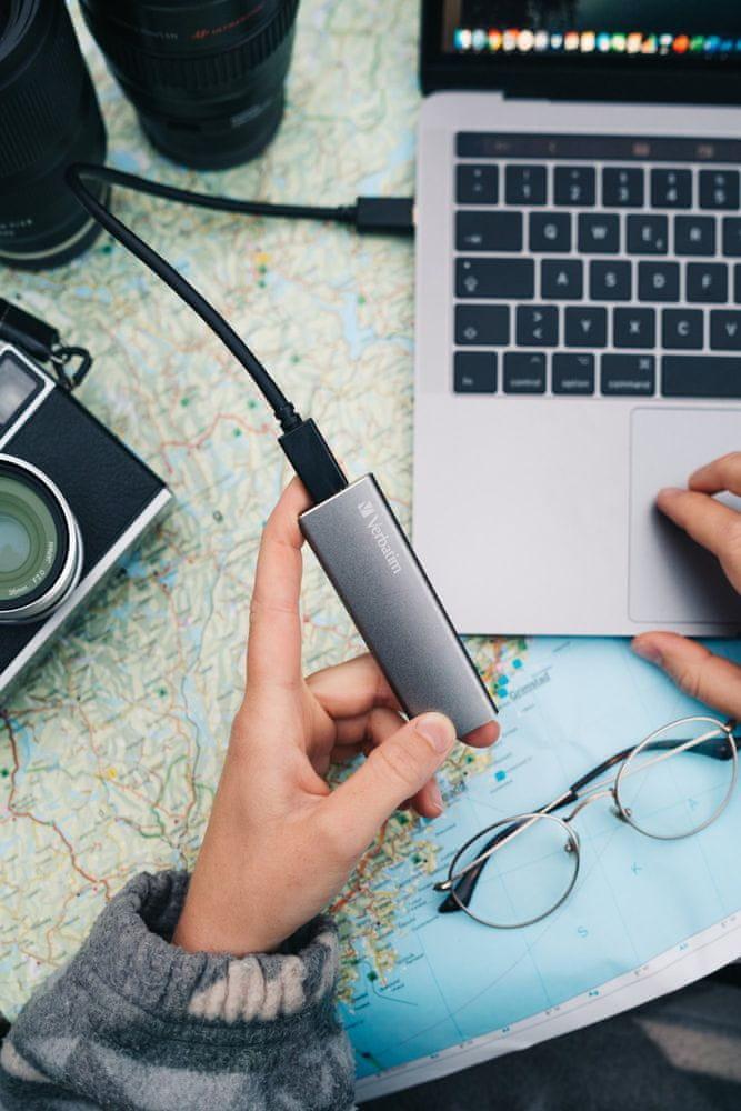 Verbatim Vx500 External SSD USB 3.1 G2 120GB (47441) - rozbaleno