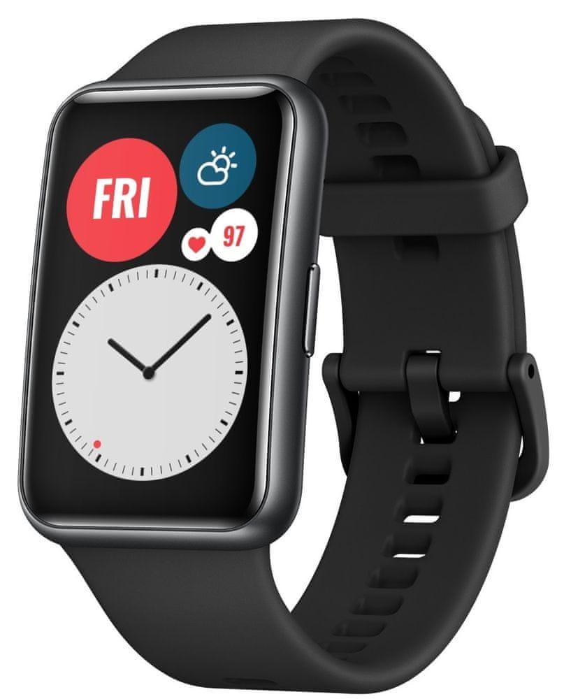 Huawei Watch Fit, Graphite Black - zánovní