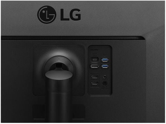 LG 35WN75C-B VA UWQHD monitor, ukrivljen, USB-C