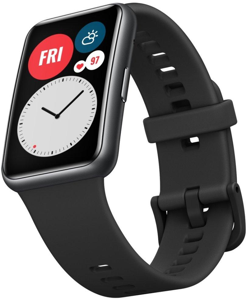 Huawei Watch Fit, Graphite Black - rozbaleno