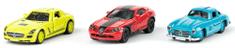 SIKU Super 0701 Mercedes barvni komplet, 3 kosi