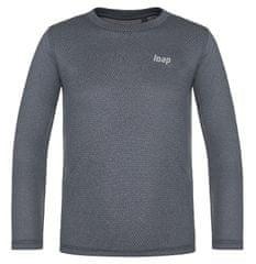 Loap Pixy otroška termo majica, siva, 128