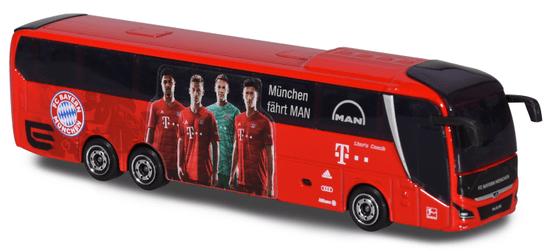 Majorette Autobus MAN FC Bayern 13 cm