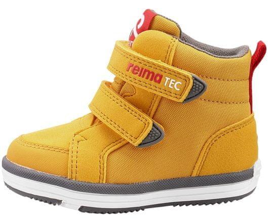 Reima dětská kotníčková obuv Patter 33 žlutá