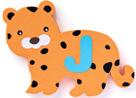 Plastica Penové Puzzle - Vodolepky zvieratká 26 ks