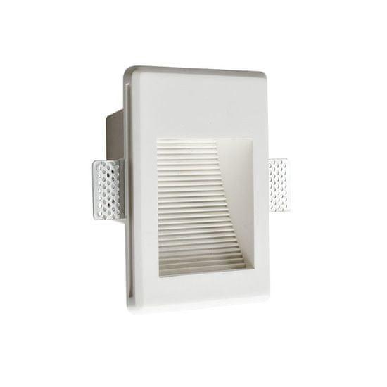 ACA ACA Lighting Gypsum LED zapustené sadrové svietidlo G8001LED