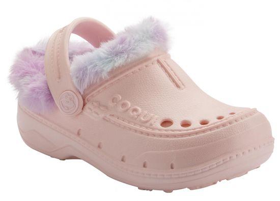 Coqui Husky Candy Pink/Rainbow natikače za djevojčice