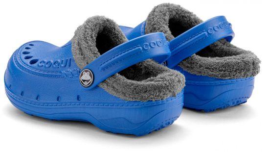 Coqui Husky Sea Blue/Mid. Grey otroški natikači