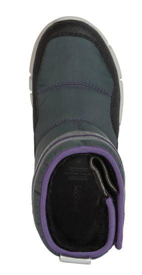 Geox J04APA 0FU50 C1324 Flexyper dekliški zimski čevlji