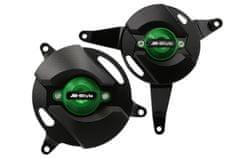 M-Style  CNC kryty motoru Kawasaki Z900 zelená