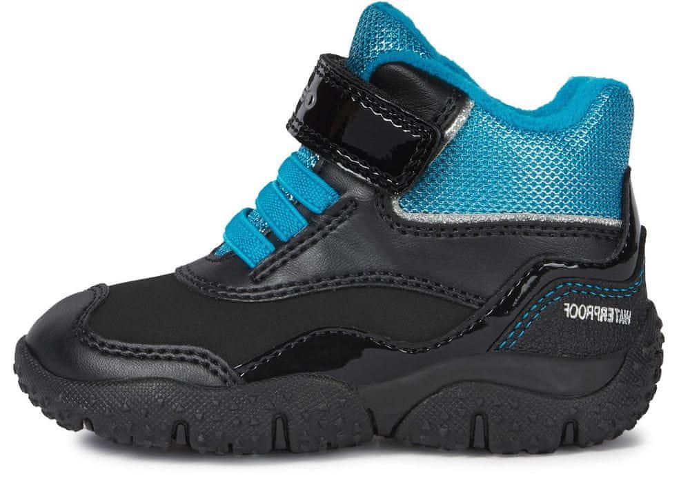 Geox dětská kotníčková obuv Baltic B04H1A 0BCM2 C0490 24 černá