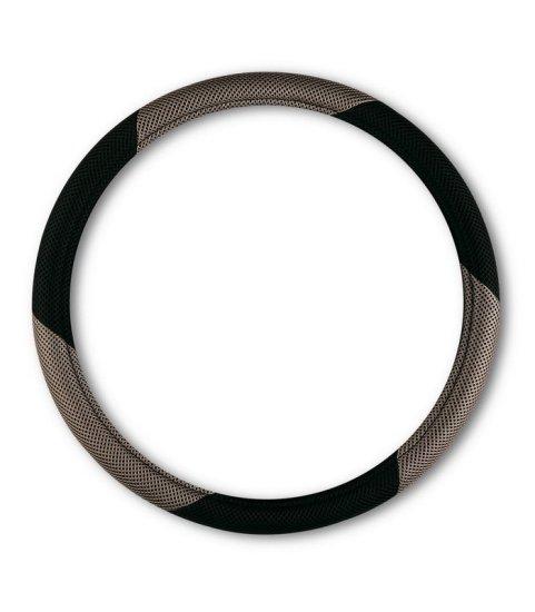 Bottari presvlaka za volan, crno-siva, 37-39 cm, Mesh